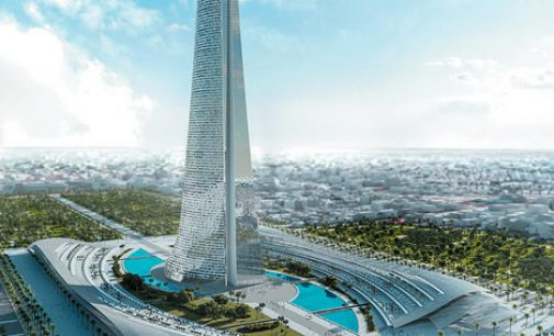 Casablanca's 'Lord of The Rings' Tower Could Be Tallest in Africa   //  'Lord of The Rings' De Casablanca Tour Pourrait Etre Plus Haut en Afrique