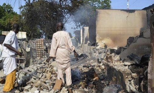 Suspected Boko Haram Suicide Bombing kills At Least 15 in Nigeria