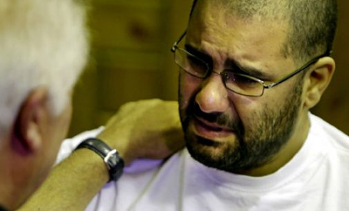 Supporters Mark Egyptian Activist Alaa Abdel-Fattah's Year in Jail
